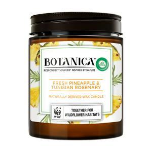 Botanica Air Wick Waxed Candle, Fresh Pineapple & Tunisian Rosemary