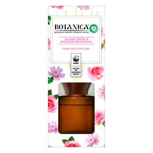 Botanica by Air Wick Reed Diffuser, Island Rose & African Geraneum
