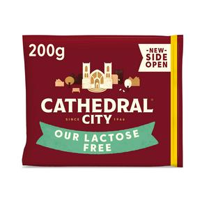 Cathedral City Lactose Free Mature Cheese 200g