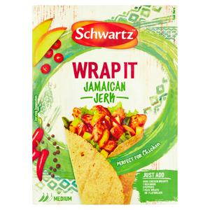 Schwartz Jamaican Jerk Wrap It Recipe Mix 30g
