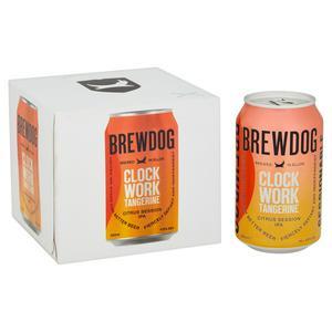 Brewdog Clockwork Tangerine Ale 4x330ml