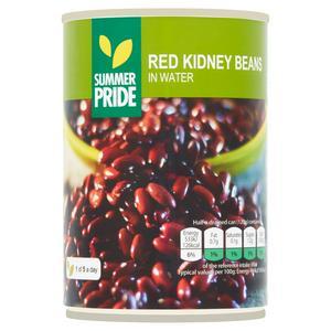Summer Pride Kidney Beans in Water 400g