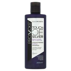Pro:Voke Touch of Silver Illuminex Strengthening Purple Shampoo 200ml