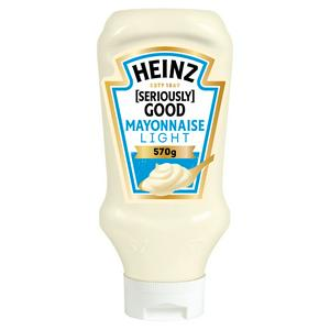 Heinz Sg Light Squeezy Mayo 570g