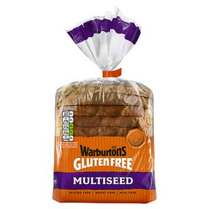 Warburtons Gluten Free Multiseed Loaf 300g