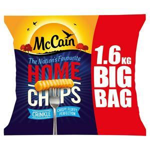 Mccain Home Chips Chips Crinkle 1.6kg