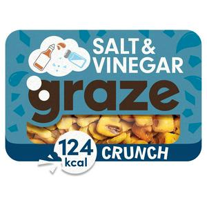 Graze Salt & Vinegar Crunch 28g