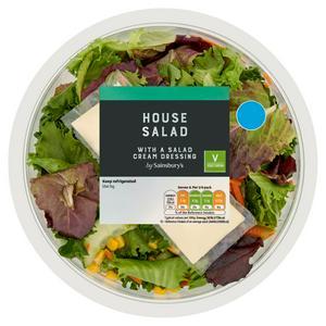 Sainsbury's House Salad Bowl 330g