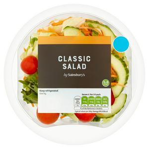 Sainsbury's Classic Salad Bowl 165g