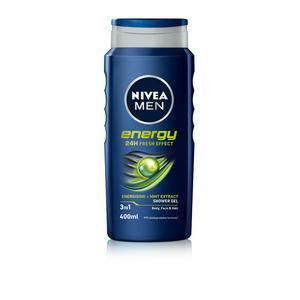 Nivea Men Energy Shower Gel 400ml