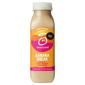 Innocent Super Smoothie Banana Break, Apple & Banana 300ml