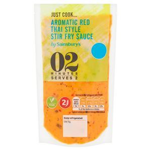 Sainsbury's Red Thai Style Stir Fry Sauce 175ml