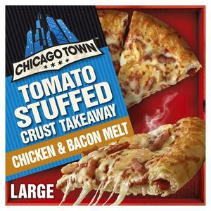 Chicago Town Tomato Stuffed Crust Takeaway Chicken & Bacon Melt 640g