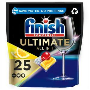 Finish Quantum Ultimate Dishwasher Tablets Lemon x25