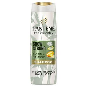 Pantene Grow Strong Shampoo with Bamboo & Biotin 400ml