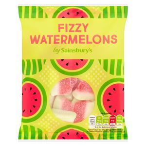 Sainsbury's Fizzy Watermelons 160g