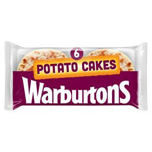 Warburtons Potato Cakes x6