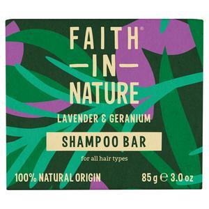 Faith in Nature Lavender & Geranium Shampoo Bar 85g