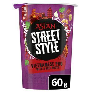 Pot Noodle Asian Street Style Vietnamese Beef Pho 60g