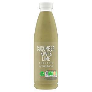 Sainsbury's Cucumber, Kiwi & Lime Smoothie 750ml