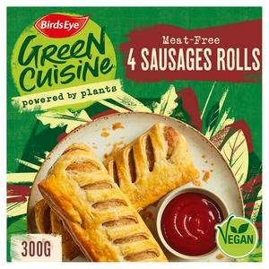 Birds Eye Green Cuisine Meat-Free Sausage Rolls x4 360g