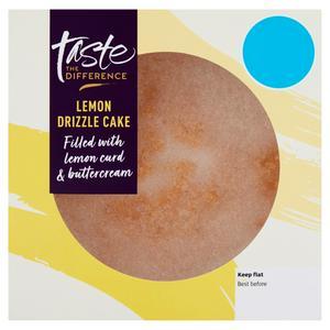 Sainsbury's Lemon Cake, Taste the Difference 440g
