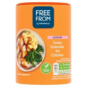 Sainsbury's Deliciously Free From Gravy Granules for Chicken 170g
