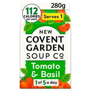 New Covent Garden Tomato & Basil Soup 280g