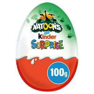 Kinder Surprise Chocolate Christmas Egg 100g