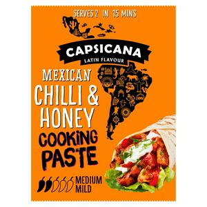Capsicana Mexican Chilli & Honey Cooking Paste 60g