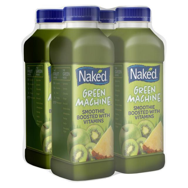 Naked Green Machine 4x360ml | Sainsbury's