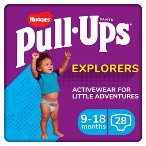 SAINSBURYS > Baby Toddler > Pull Ups Explorers Boy, 9-18 Months, x28