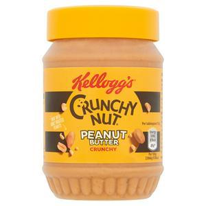 Kellogg's Crunchy Nut Crunchy Peanut Butter 340g