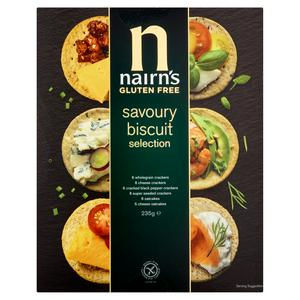Nairn's Gluten Free Savoury Biscuit Selection 235g