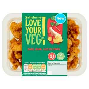 Sainsbury's Vegan Bang Bang Cauliflower 150g