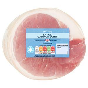 Sainsbury's Unsmoked Large Gammon Joint 2.3kg