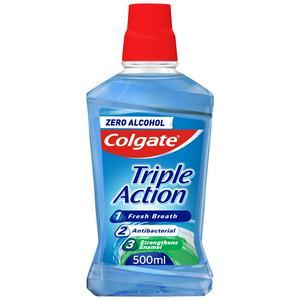 Colgate Triple Action Mouthwash 500ml
