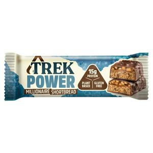 Trek Power Millionaire Shortbread Protein Bar 55g