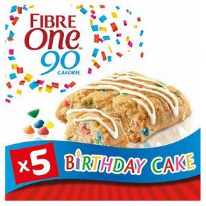 Fibre One Birthday Cake Brownie 5x24g