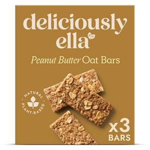 Deliciously Ella Peanut Oat Bars 3x50g