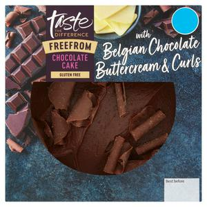 Sainsbury's Free From Chocolate Cake, Taste the Difference 396g