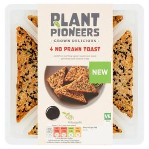 Plant Pioneers No Prawn Toast x4 123g