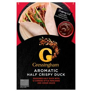 Gressingham Half Aromatic Duck 540g