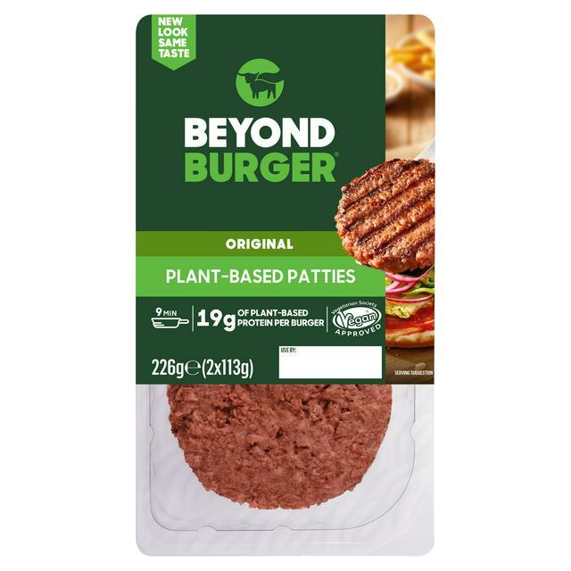 Beyond Meat Plant Based Burger Patties X2 226g Sainsbury S