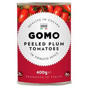 Gomo Peeled Plum Tomatoes 400g