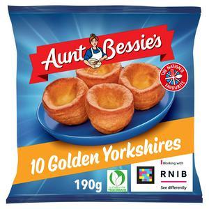 Aunt Bessie's Glorious Golden Yorkshires x10 190g
