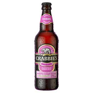 Crabbie's Rhubarb Alcoholic Ginger Beer 500ml