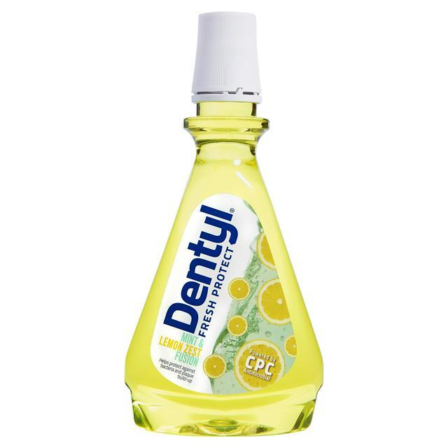 Dentyl Fresh Protect Mint & Lemon Zest Fusion 500ml | Sainsbury's