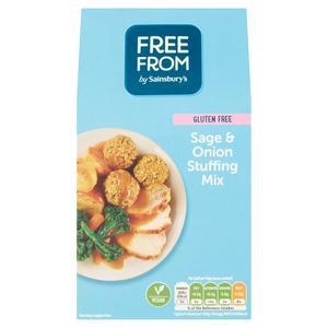 Sainsbury's Free From Sage & Onion Stuffing Mix 170g