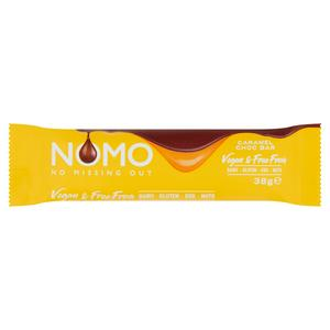 Nomo Vegan & Free From Caramel Chocolate Bar 38g